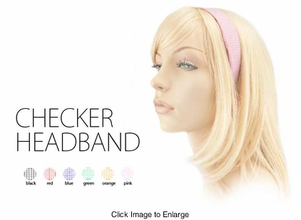 Checker Headband