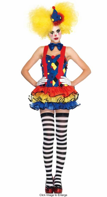 3-Piece Giggles The Clown Costume