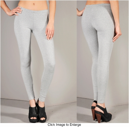Cotton Knit Leggings
