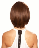 Human Hair Blend Lace Front Wig in Stylish Bob