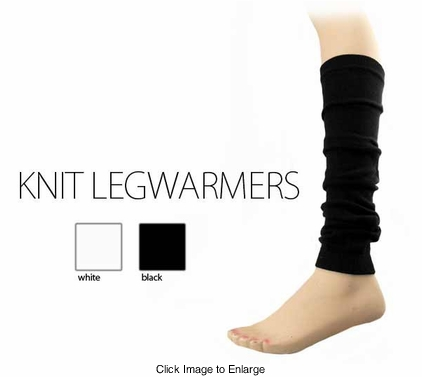 Stretch knit Leg Warmers