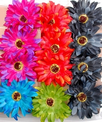 "4.5"" Daisy Flower Hair Clip (available in 5 colors)"
