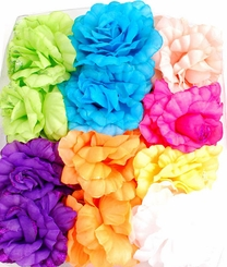 "Summer 4.5"" Flower Jaw Clip (available in 8 colors)"