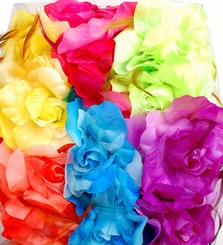 "5.5"" Summer Flower Jaw Clip (available in 6 colors)"