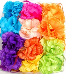 "5"" Flower Hair Claw (available in 8 colors)"