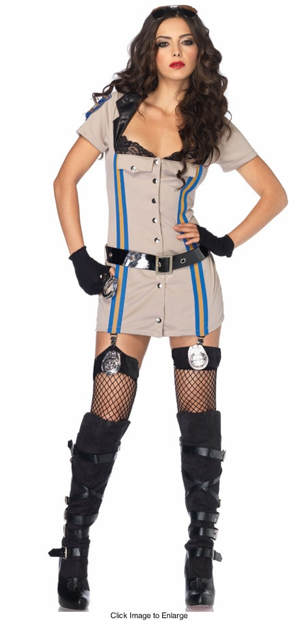 Highway Police Patrol Honey Costume