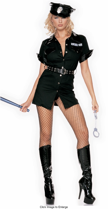 Police Woman Adult Costume Dress