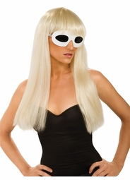 Lady Gaga Long Blonde Wig
