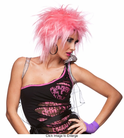 Punky Wig in Pink Haze