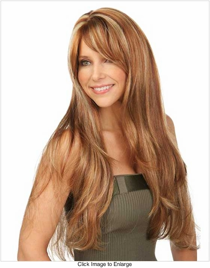 Layered Wig Bangs 84