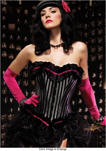Striped Veronica Corset