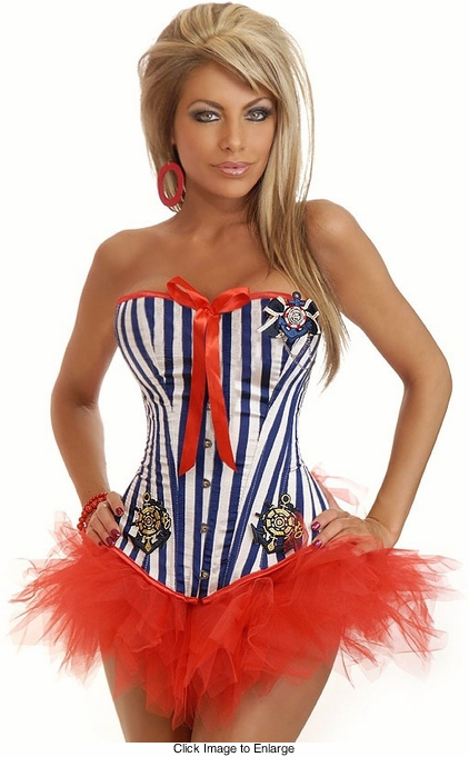 Sailor Costume with Pettiskirt