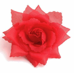 "4.5"" Rose Flower Hair Clip"