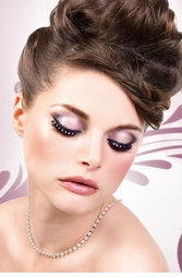 Wispy False Lashes with Crystals