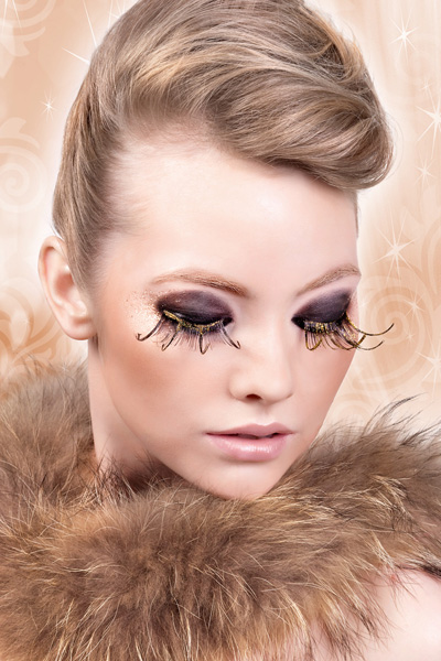 False Eyelashes -Gold Rush False Lashes