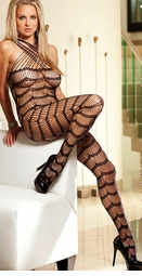 Ray Net Halter Bodystocking