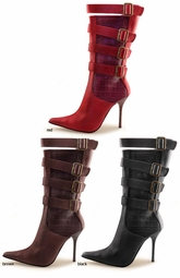 "4"" Pointy Toe Buckle Boots ""Olesia"" from Michael Antonio"