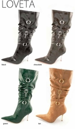 "4"" Buckle Boots ""Loveta"" from Michael Antonio"