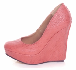 "5"" Platform Wedge Pumps ""Gezana"" from Michael Antonio"