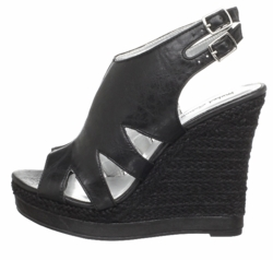 "5"" Cutout Wedge Shoes ""Gaelle"" from Michael Antonio"