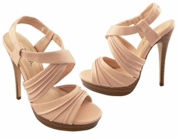 "5"" Strappy Shoes with 0.75"" Front Platform"
