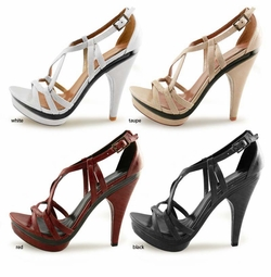 "4.5"" Strappy Summer Shoes ""Stephie"" from Michael Antonio"
