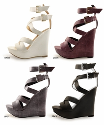 "5"" Wedge Shoes ""Helio"" from Michael Antonio"