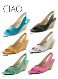 "3"" Wedge Sandals ""Ciao"" from Michael Antonio"
