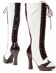 "4"" Gangster Knee High Boots"
