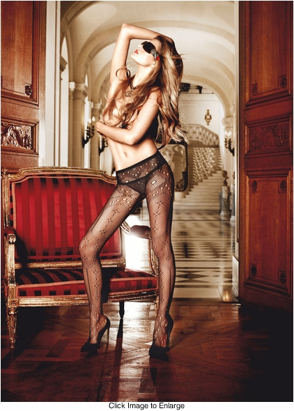 Couture Net Pantyhose