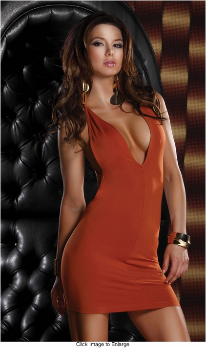 Spice Mini Dress with Open Back