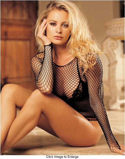 Long Sleeve Fishnet Top