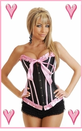 Bubblegum Dreams Corset  (available in plus sizes, too)