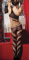 Strappy Swirl Bodystocking