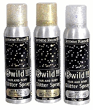 Spray on Hair and Body Glitter Spray