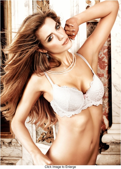 White Lace Bra With Underwire