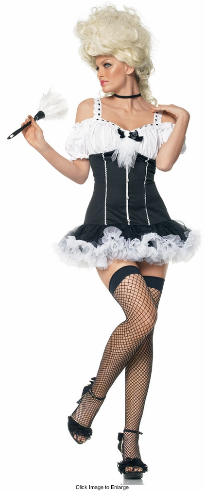 Lady's French Maid Costumes