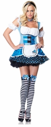 Mushroom Alice in Wonderland Costume