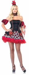 Wonderland Queen of Hearts Costume