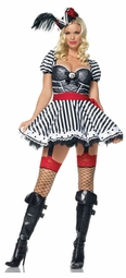 Sexy Stripe Pirate Costumes