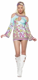 Groovy Lilly Gogo Girl Costume