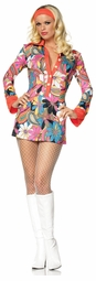Paisley Flower Gogo Dress