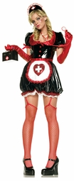 Vinyl Anime Nurse Costume