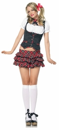Miss Naughty Schoolgirl Costume
