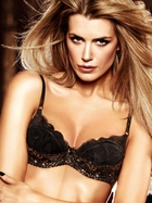 Black and Silver Glitter Lace Maximum Cleavage Bra With Underwire