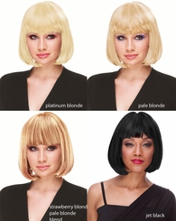 Deluxe Chin Length Bob Wig
