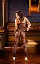 Glamour Floral Lace Bodystocking