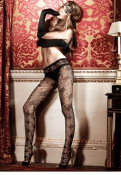 Diamond Lace Pantyhose