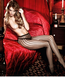 Alternating Honeycomb Net Pantyhose