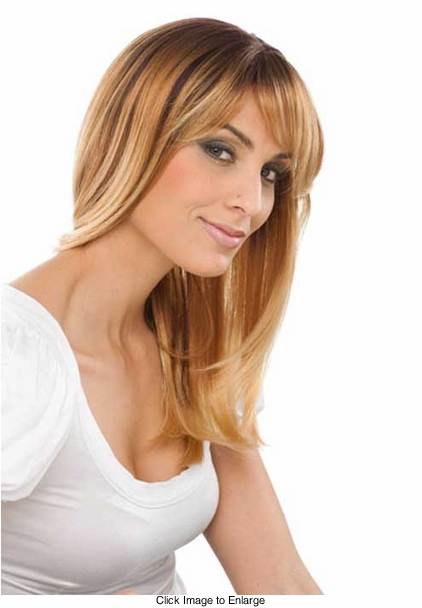 Ombre Color Brown Crown with Golden Blonde Tips TA472